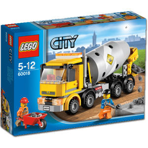 Image of LEGO Cement Mixer 60018 - BRAND NEW NEVER OPENED